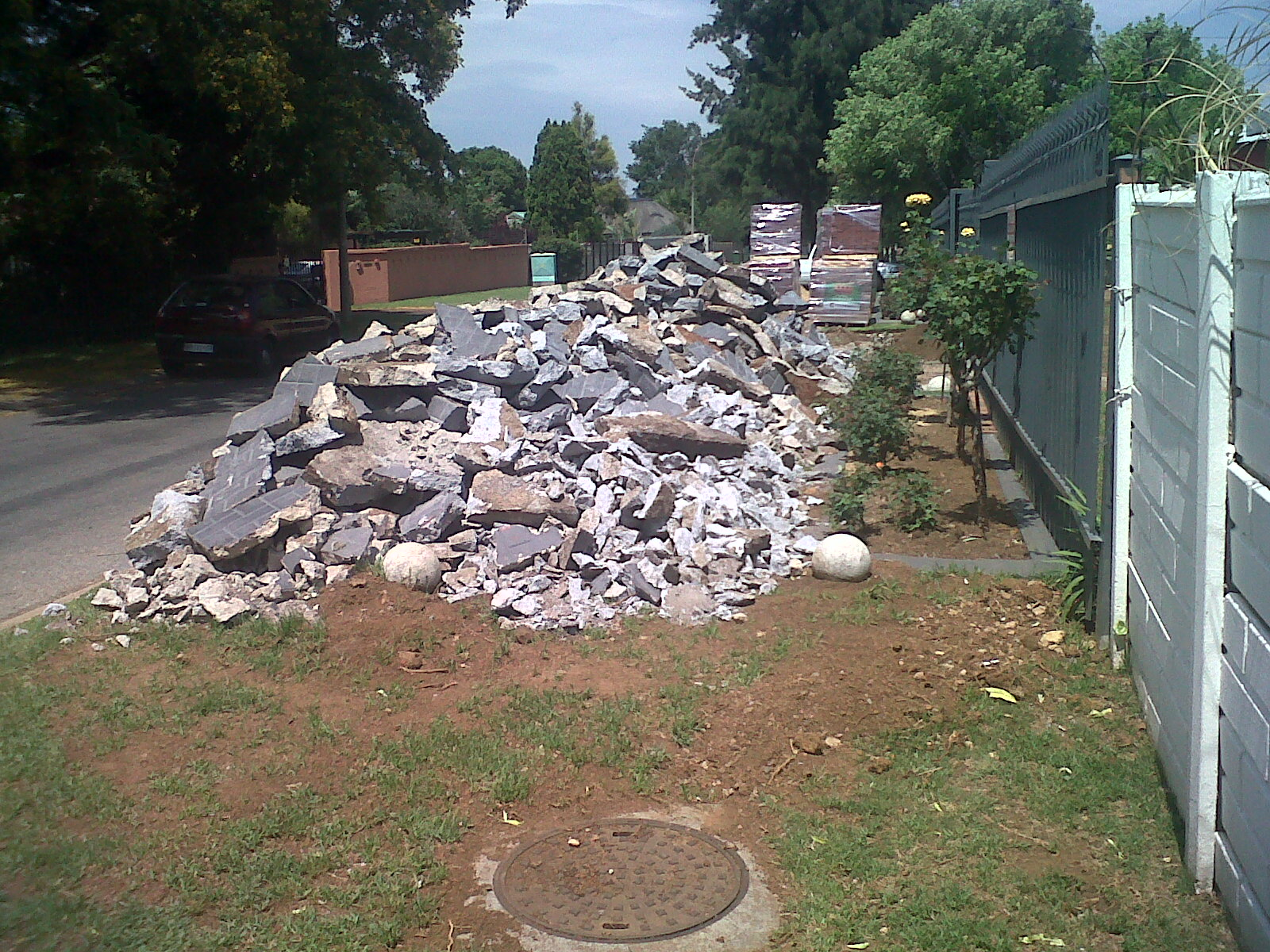 Building rubble