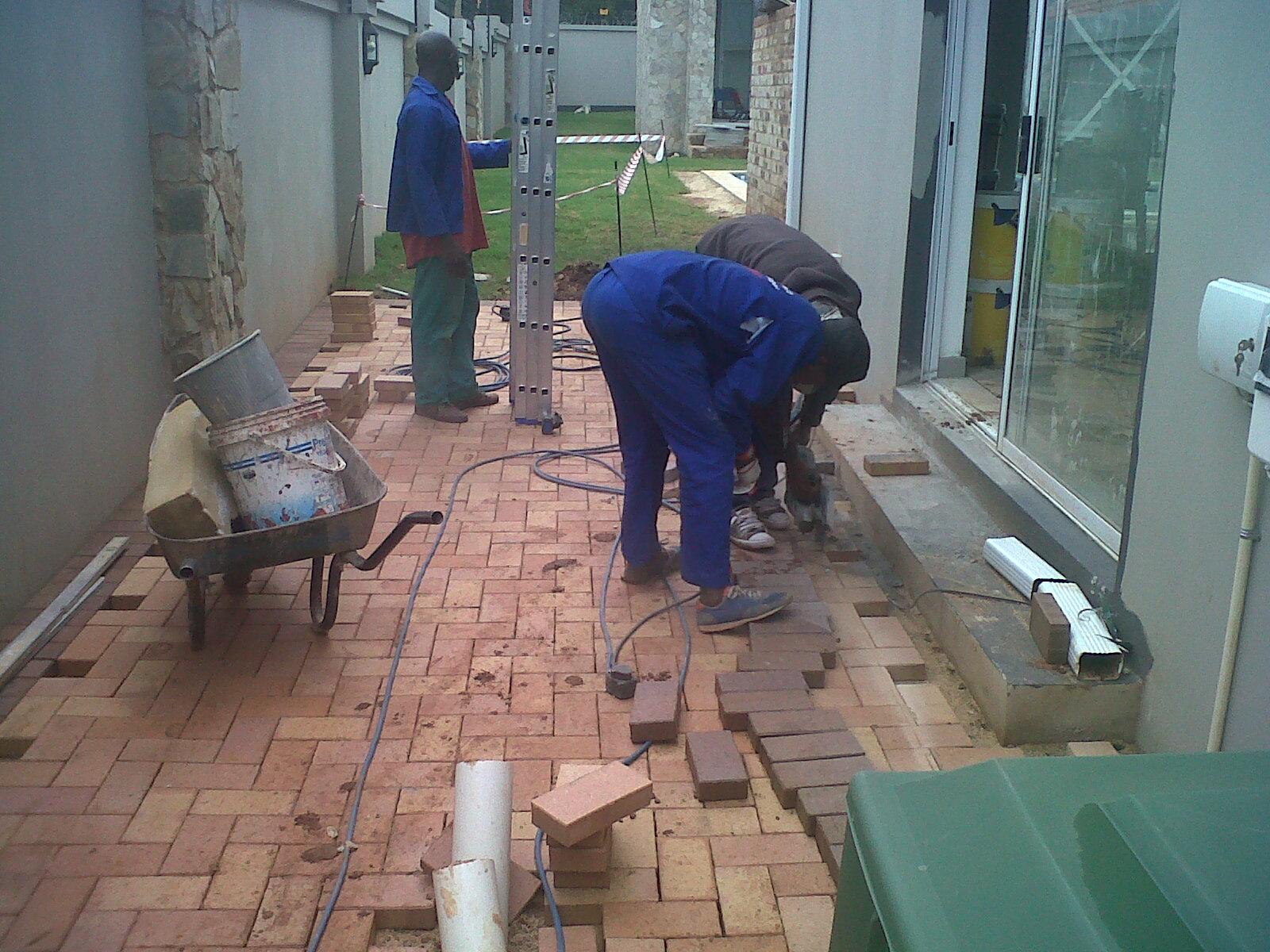 Relaying old bricks